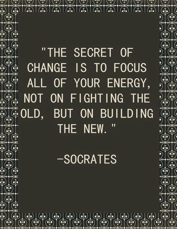 Don't focus on the past. Focus on the new. #Quote #Motivational