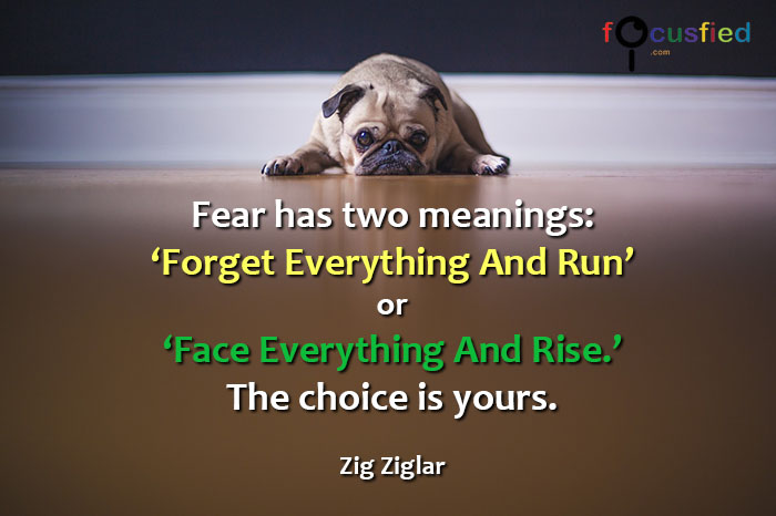 Zig-Ziglar-Fear-has-two-meanings-focusfied