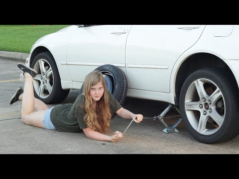 Watch A Woman's Guide To Changing A Tire #Video #Funny