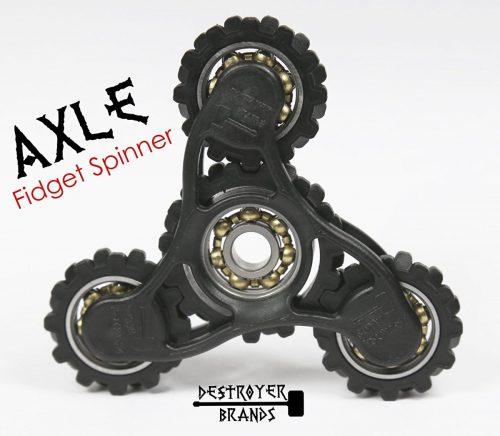 Fidget Spinner- AXLE – by DESTROYER Brands – Fidget Toy, Anxiety Toy,  Stress Relief