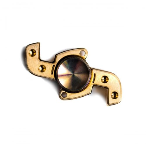 IMPROVE FOCUS, RELIEVE STRESS – Channel your fidget energy into this extremely smooth spinning, high quality brass fidget toy. Helps those who suffer from ...