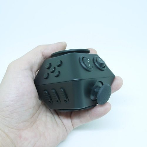 BrandDMaos Newest Play Way Fidget Cube Spinner ADD ADHD Sufferers Helps Black
