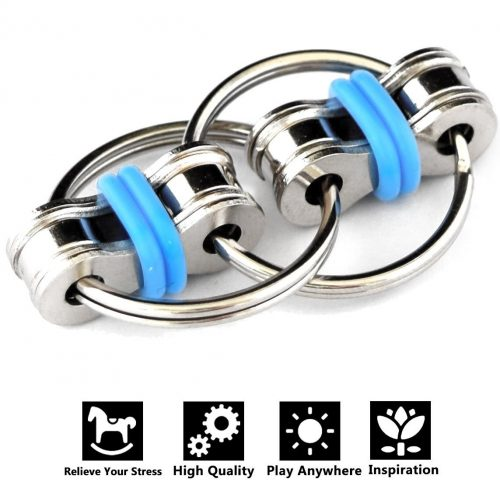 Flippy Chain Fidget Toy Stress Reducer Perfect For ADD ADHD Anxiety And Autism