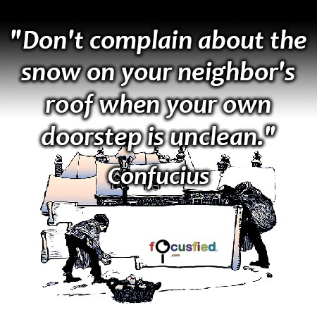 Confucius-Don't-complain-about-the-snow-focusfied