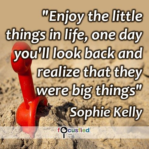 Sophie-Kelly-Enjoy-the-little-things-in-life-Focusfied